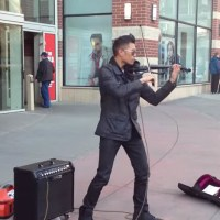Bryson Andres Street Performer