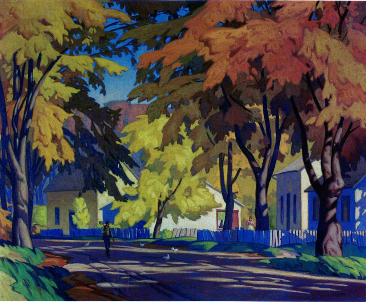 Aj Casson Painting Sells For Record Price The Globe