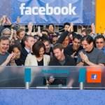 Facebook in shares market