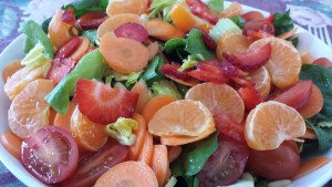 strawberry clem salad