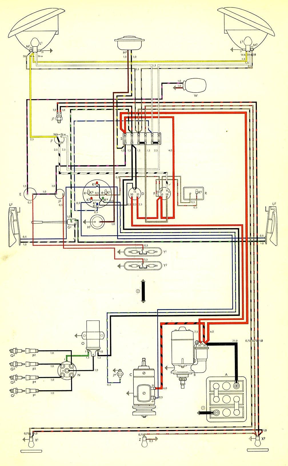 1977 C10 Alternator Wiring Diagram 1959 Bus Wiring Diagram Thegoldenbug Com