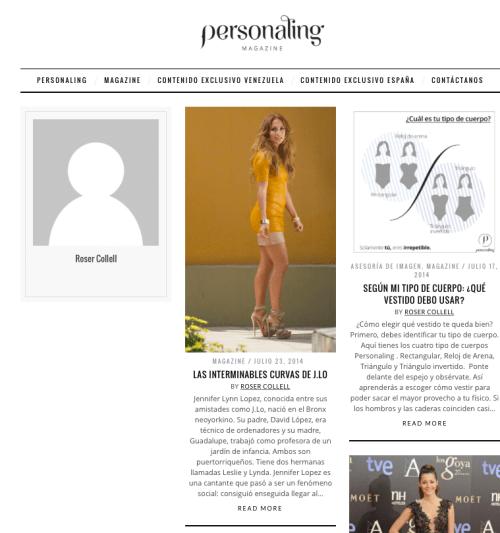 Estilista de moda Roser Collell Personaling