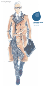 Tendencias de color Otono Invierno 2013  2014  Mykonos Blue Hombre TheGoldenStyle The Golden Style,jpg