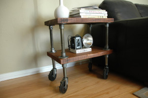 308 Vintage Industrial Shelf111