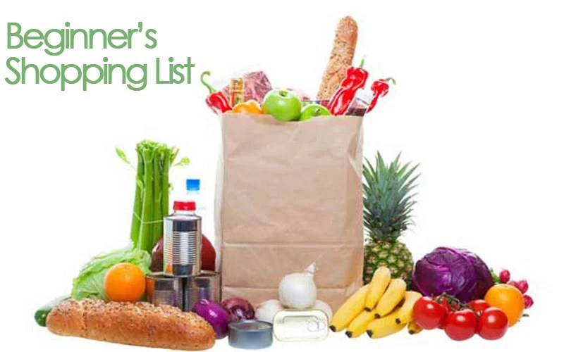 Grocery List For Beginners The Gracious Pantry
