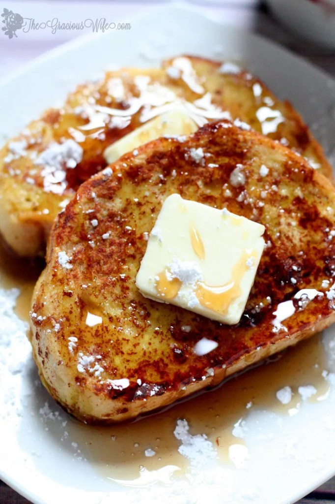 Eggnog French Toast- Christmas Morning Breakfast Recipe | The Gracious ...