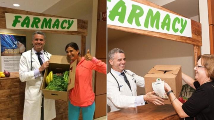"""O hospital que possui uma """"farmácia de alimentos orgânicos"""" para os pacientes tomarem menos remédios"""