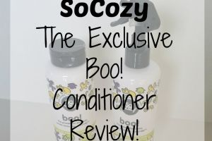 SoCozy The Exclusive Boo! Conditioner Review!