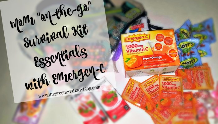 "Mom ""On-The-Go"" Survival Kit Essentials w/Emergen-C"