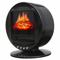 3D Motion Fireplace Desktop Heater - The Green Head