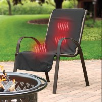 Cordless Heated Patio Chair Cover - The Green Head