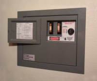 Faux Electrical Panel Hidden Wall Safe - The Green Head