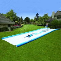 Gigantic Backyard Water Slide - The Green Head