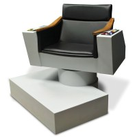 Lifesize Replica of Captain Kirk's Chair from Star Trek ...