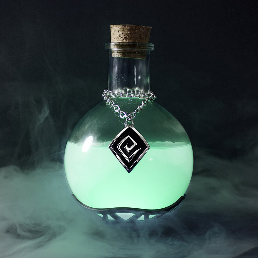 Harry Potter Wallpaper Cute Magic Potion Lamp The Green Head