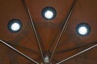Magnetic Umbrella Solar Lights - The Green Head