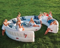 Massive Inflatable Outdoor Party Sofa - Seats 30 Guests ...