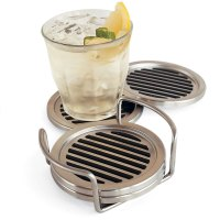 Stainless Steel Coasters - The Green Head