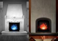8-Bit Fireplace Art - The Green Head