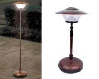 Cordless Telescoping Patio Lamp - The Green Head