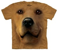 Golden Retriever Dog T-Shirt - The Green Head