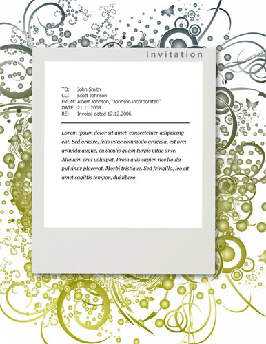 Free Party Invitation Templates - The Grid System - free downloadable invitation templates