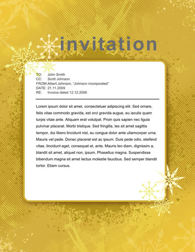 Free Party Invitation Templates - The Grid System - Invitations Templates