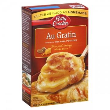 Betty Crocker Potatoes Au Gratin