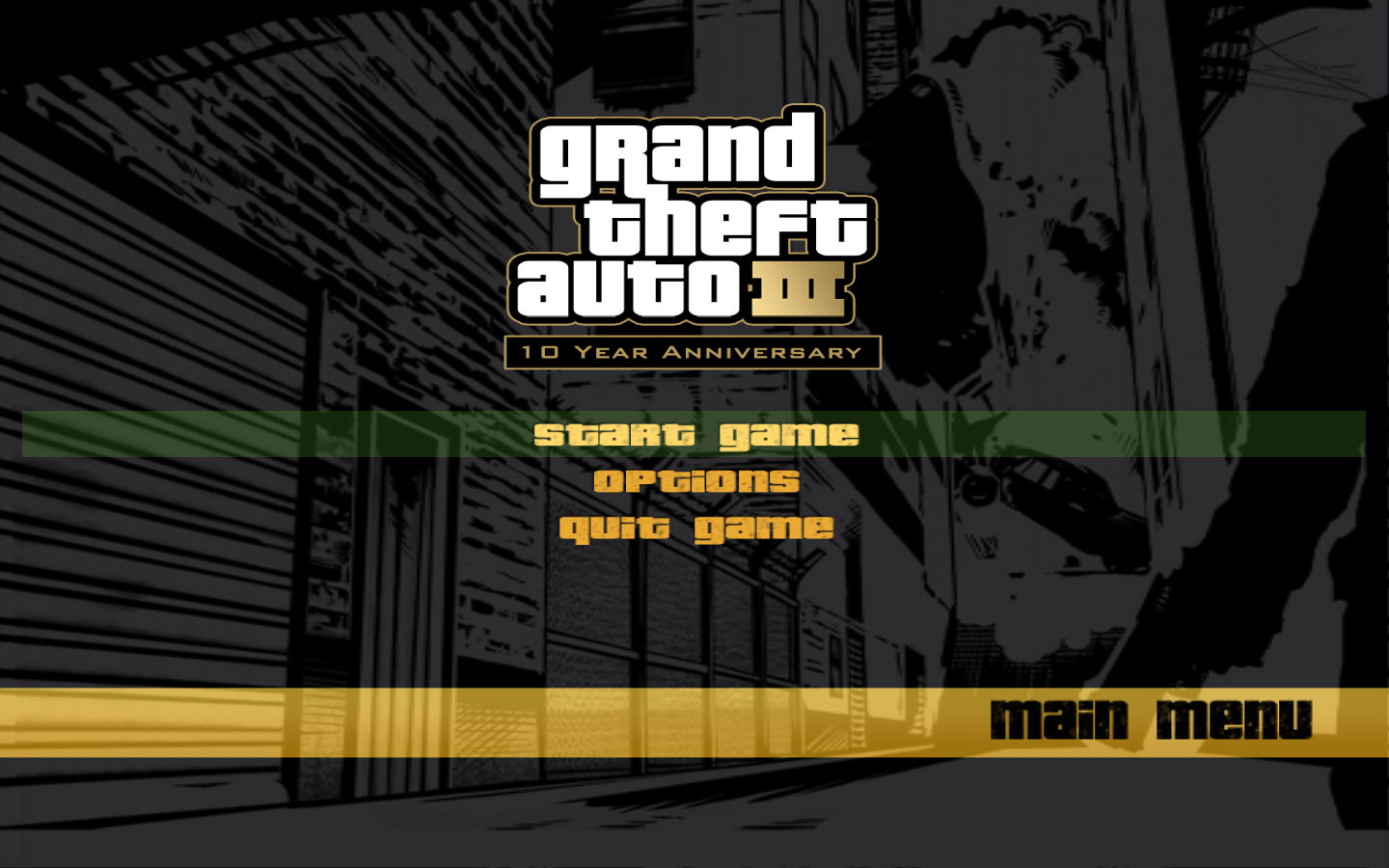Gta San Andreas Wallpaper Hd The Gta Place 10th Anniversary Menu