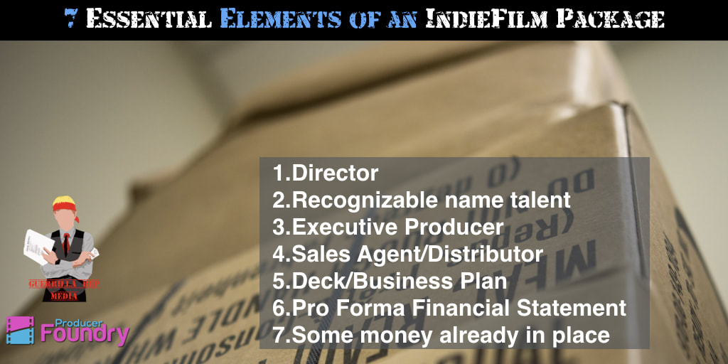 7 Essential Elements of an IndieFilm Package - The Guerrilla Rep