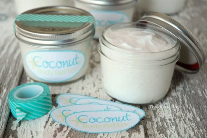 DIY Coconut Body Butter