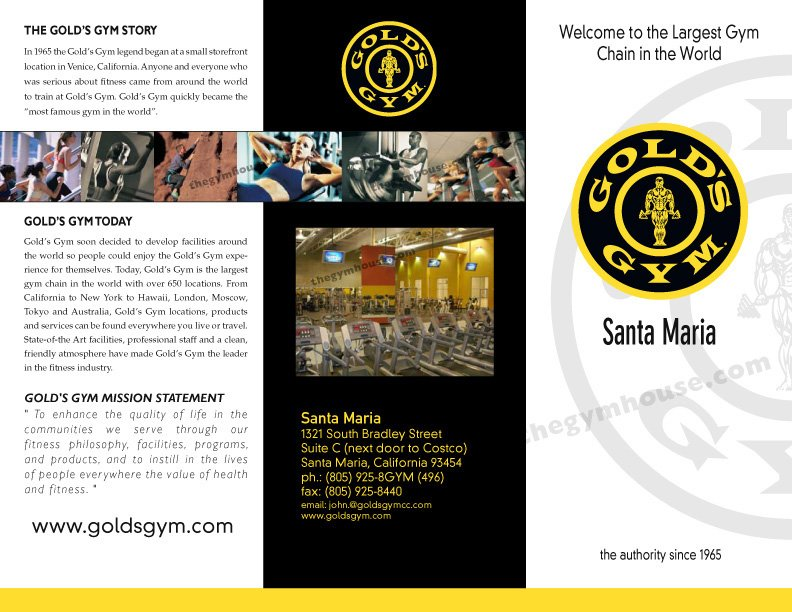 Gym Brochure Row Images A Printer for Gyms and Personal Trainers - fitness brochure