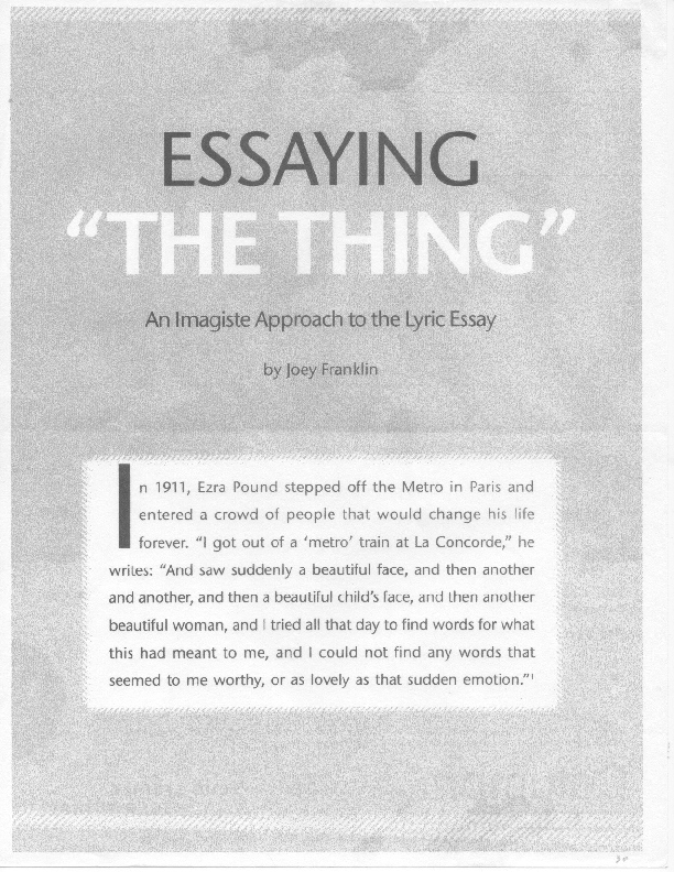 An essay on global warming \u2013 The Friary School