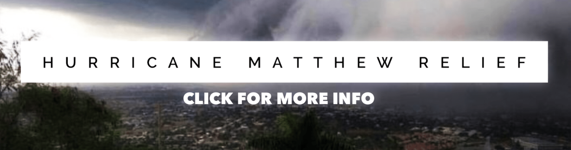 Relief for those in Haiti impacted by hurricane Matthew