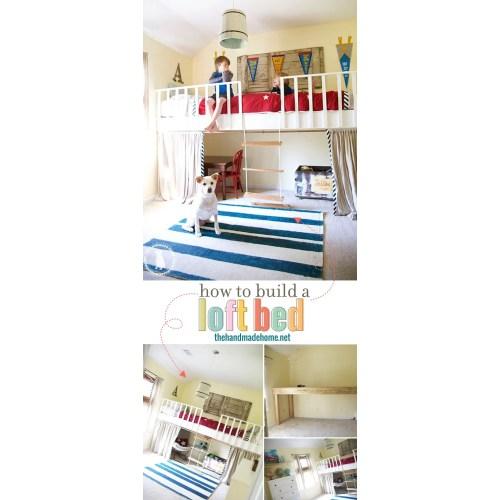 Medium Crop Of How To Build A Loft Bed