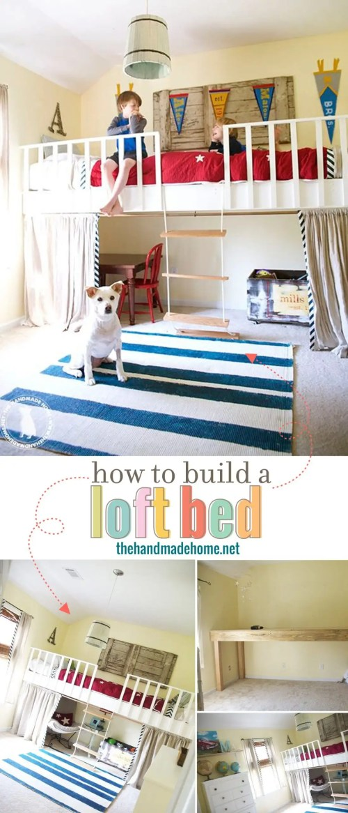 Medium Of How To Build A Loft Bed