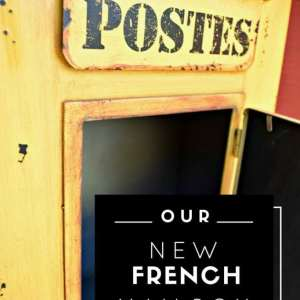 Our New French Mailbox