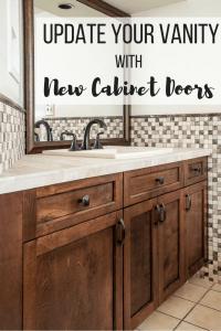 Update Your Bathroom Vanity with New Cabinet Doors - The ...