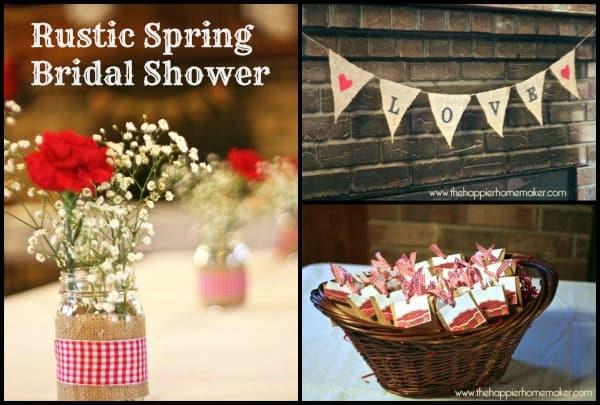 Bridal Shower Collage