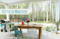 DIY Patio Makeover on the cheap! - Young House Love Forums