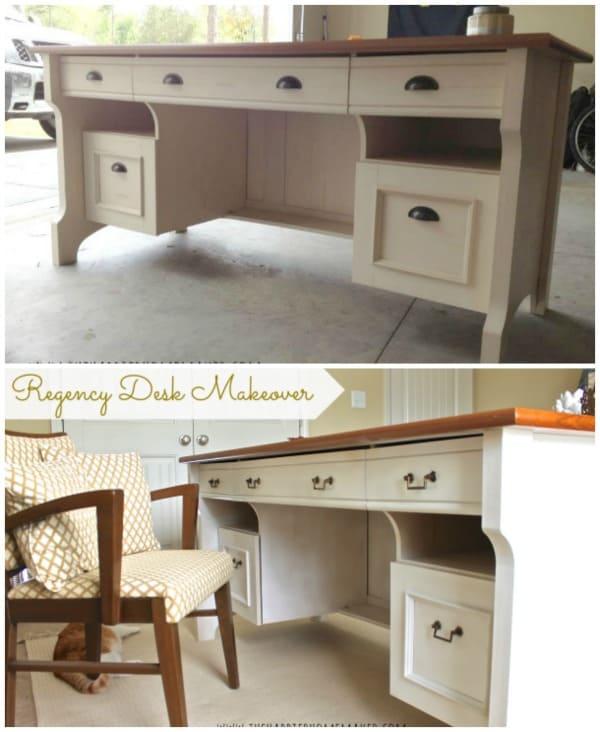 Desk Update Collage