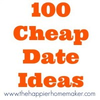 100 Cheap Date Ideas!