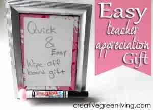 wipe off board teacher appriciation gift