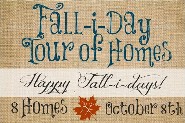 Falliday Tour Of Homes Invite