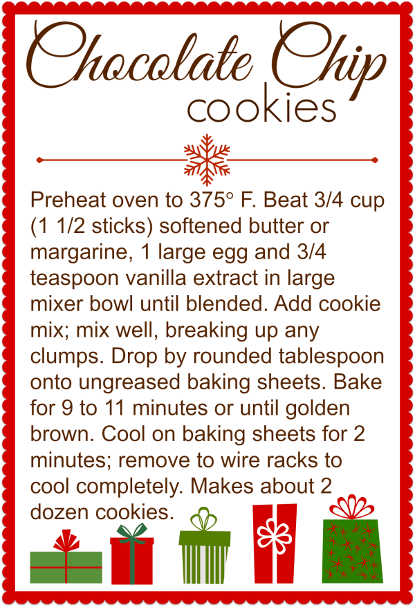 Selective image regarding cookie printable