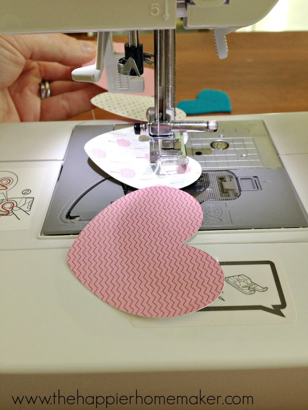 how to sew paper