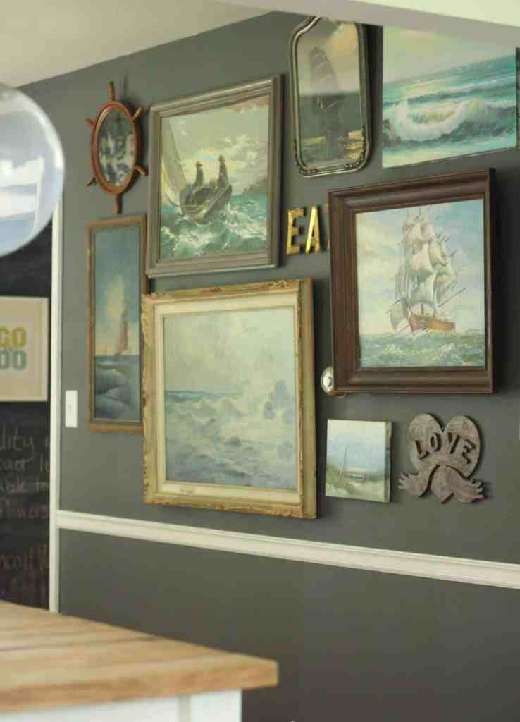 nautical art primitive and proper