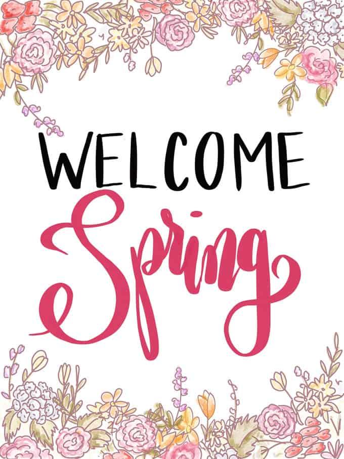 Spring Printable Art The Happier Homemaker