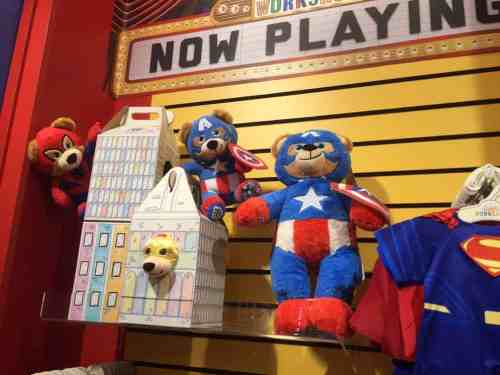 Now playing at Build-A-Bear Workshop . . .