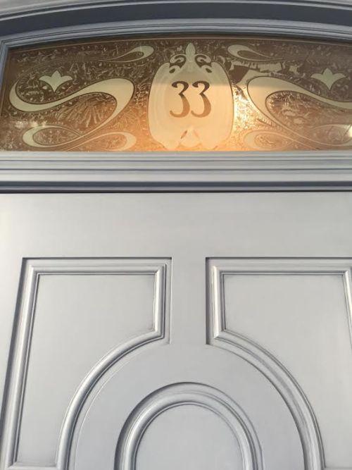 Club 33 doorway